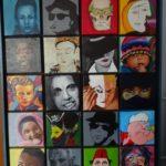 Nr. 30 Portrettengallerij door Annie Scheepens, 90x200 9cm diep.